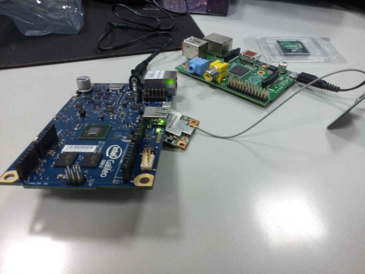 circuitería Raspberry